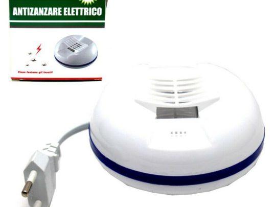 antizanzare elettrico piastrine