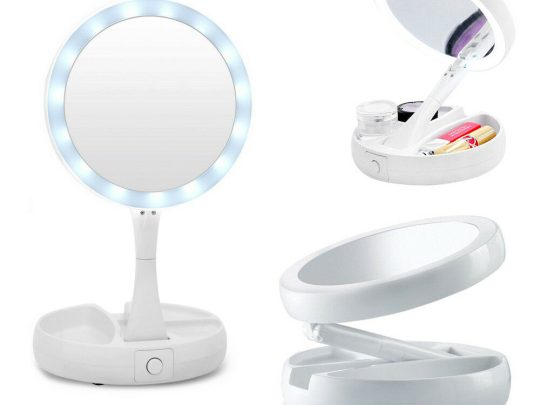 specchio make-up led