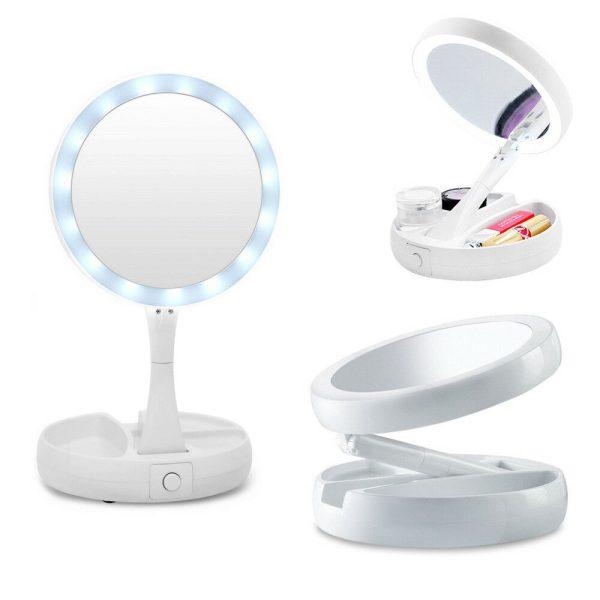 specchio make-up led