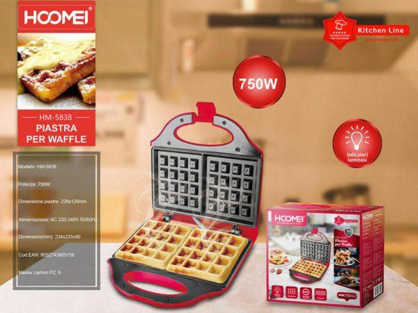 piastra waffle hoomei